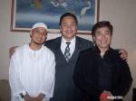 Ustd. Arifin Ilham, AGA, dan Guruh Sukarnoputra