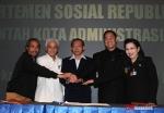 Ir. Hatta Rajasa, Bambang Prajitno, AGA, Dr Hj Sylviana Murni SH, MSi