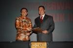 AGA dan H. Marzuki Alie (Ketua DPR-RI)