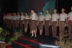 Taruna Akpol Memimpin Lagu Indonesia Raya di Pembukaan Eks-91